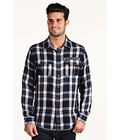 Calvin Klein Jeans - Metro Plaid 2 Pocket L/S Military Shirt