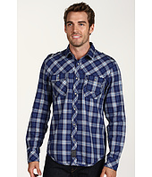 Calvin Klein Jeans - Reflective Plaid L/S Military Shirt