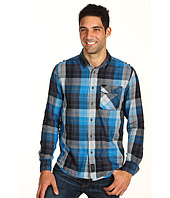 Calvin Klein Jeans - Elevate Plaid 1 Pocket L/S Military Shirt