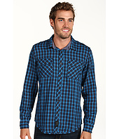 Calvin Klein Jeans - Liberation Plaid 2 Pocket L/S Military Shirt