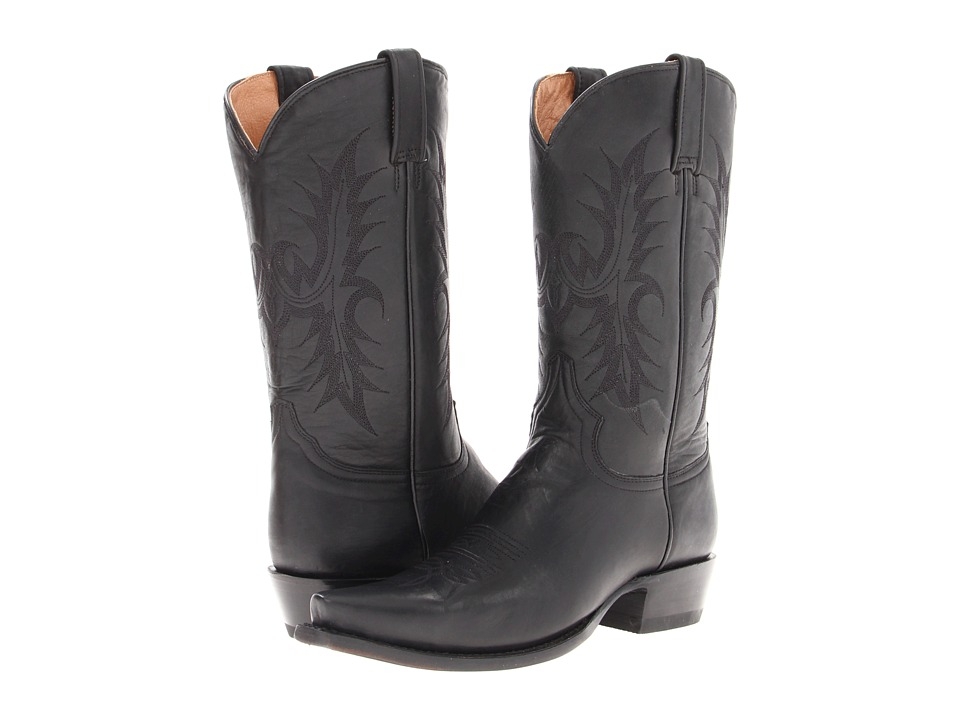 Stetson - 12 Classic Lady Snip Toe (Black) Cowboy Boots