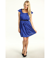 BCBGeneration - Pleat Front Ruffle Dress