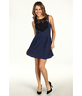 BCBGeneration - Lace Yoke Dress