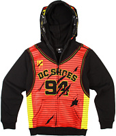 DC Kids - Wrapped Up Zip Hoodie (Big Kids)