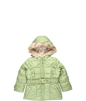 London Fog Kids - L212943 Girls Poly Pongee Belted Jacket (Little Kids)
