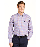Faconnable - MicroPlaid Cotton Twill Shirt