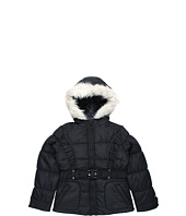 London Fog Kids - L212A43 Girls Poly Pongee Belted Jacket (Big Kids)
