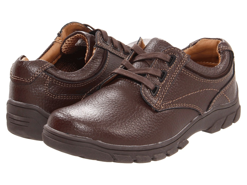 Florsheim Kids Getaway Plain Ox Jr. Toddler/Little Kid/Big Kid Brown Boys Shoes