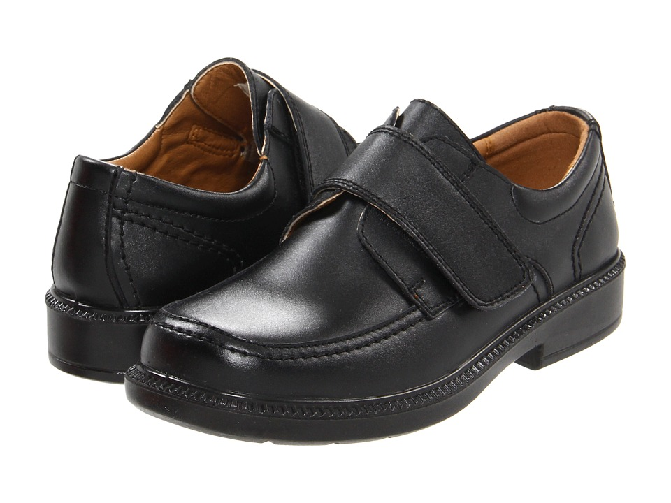 Florsheim Kids Berwyn Jr. Toddler/Little Kid/Big Kid Black Boys Shoes