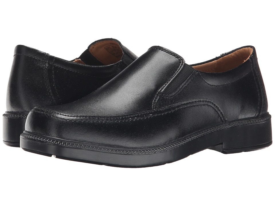 Florsheim Kids Bogan Jr. Toddler/Little Kid/Big Kid Black Boys Shoes