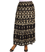 Calvin Klein - Plus Size Mirrored Animal Printed Peasant Skirt