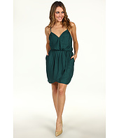 BCBGeneration - Pleat Front Crisscross Strap Dress