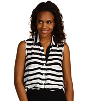 Karen Kane - Modern Stripe Sleeveless Shirt