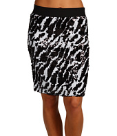 Karen Kane - Zebra Sequin Knit Sequin Pencil Skirt