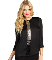 Vince Camuto - Ladylike 3/4 Sleeve Center Embellished Blouse