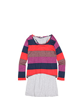 Splendid Littles - L/S Color Block Rugby 2-fer Dress (Big Kids)