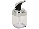 Square Push Pump, Chrome 15 Fl. Oz.