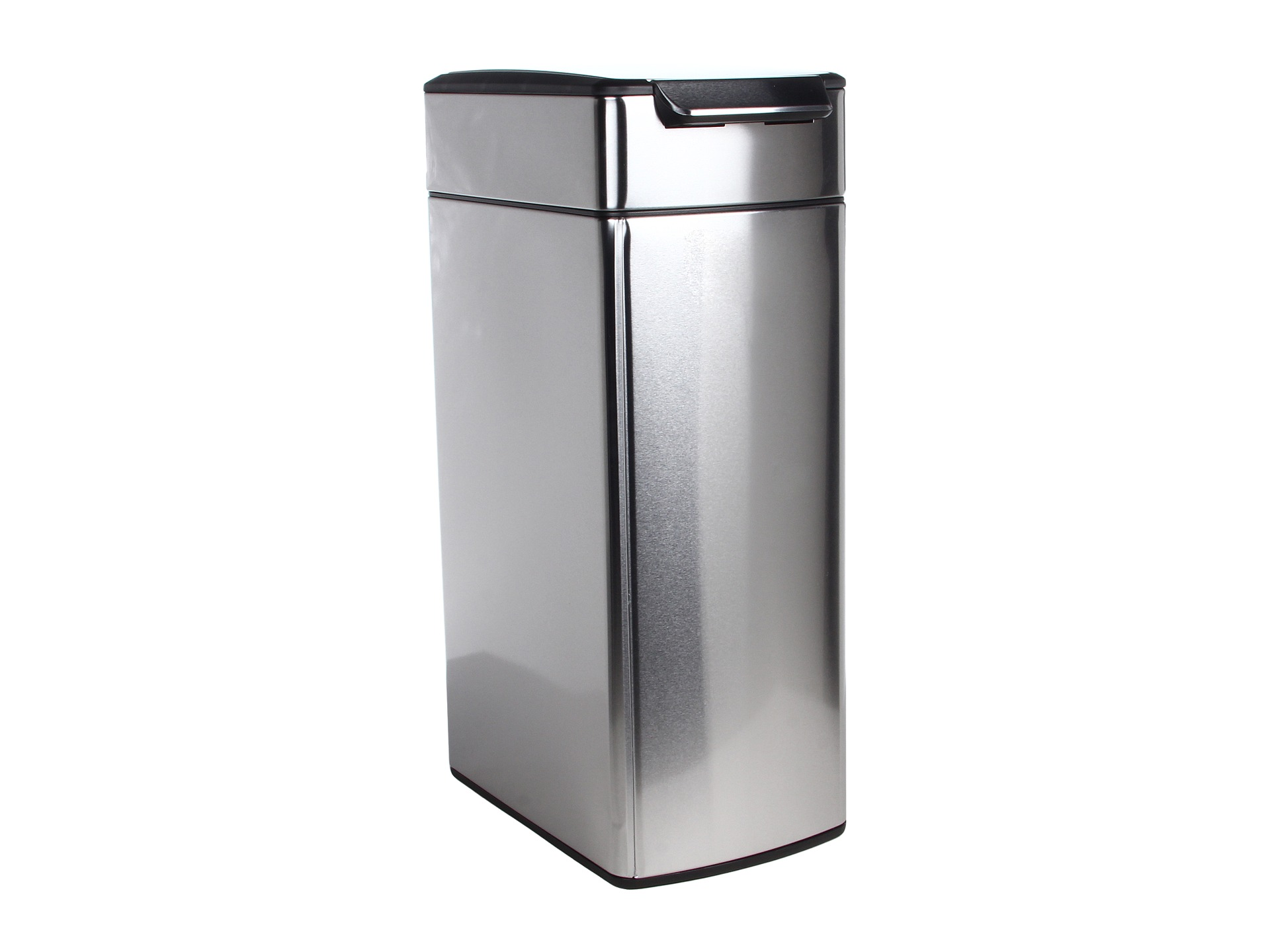 Simplehuman simplehuman slim touch bar trash can fingerprint proof 40 liters 10 5 shipped free - Slim garbage cans for kitchen ...