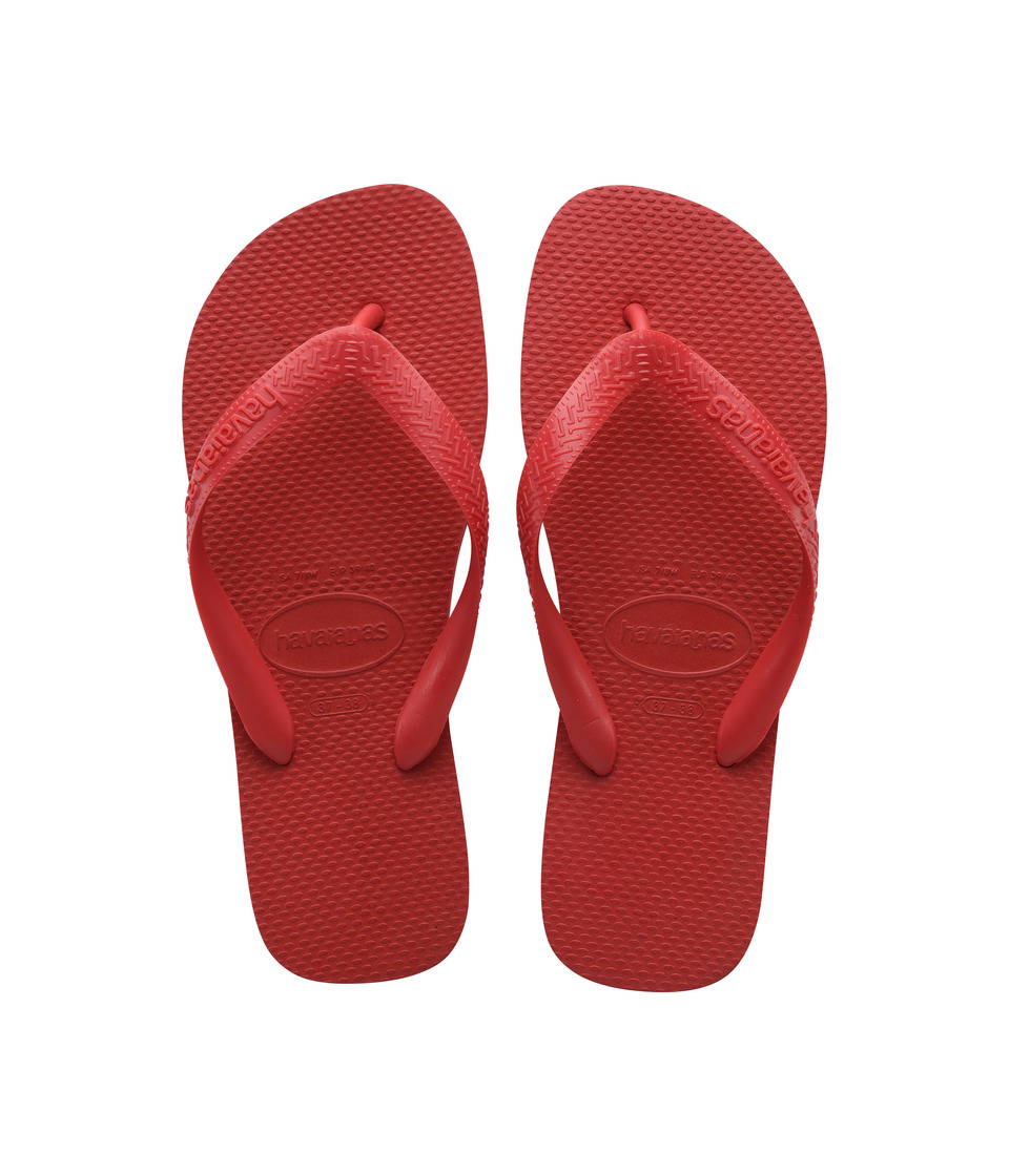 Havaianas Top Flip Flops (Ruby Red) Sandals