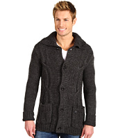 J.C. Rags - Cable Detail Wool Cardigan