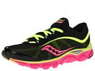 Saucony - Virrata W (Black/Citron/Pink) - Footwear