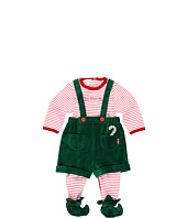 le top - Elves Footed Coverall & Elf Short (Newborn)
