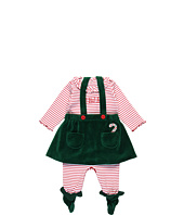 le top - Elves Footed Jumpsuit & Elf Skirt (Newborn)