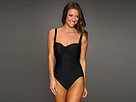 KAMALIKULTURE - Shirred Mio Swimsuit (Black)