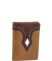 Nocona - Top Hand Diamond Concho Tri-fold Wallet