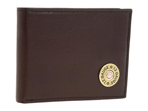 M&F Western Nocona Bullet Bi-Fold Wallet - Brown