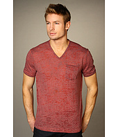 John Varvatos - S/S Pick Stitch Vee