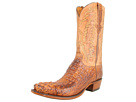 Lucchese - L1331 (Tan Burnished Mad Dog Hornback/Tan Burnished Mad Dog Goat) -