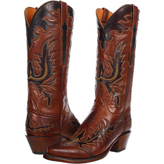 L4625 (Tan Burnished Ranch) Cowboy Boots