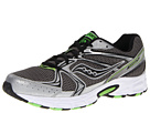 Saucony - Cohesion 6 (Grey/Silver/Slime) - Footwear