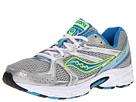 Saucony - Cohesion 6 W (Silver/Blue/Citron) - Footwear