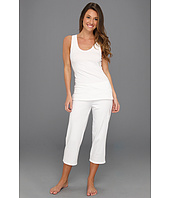 Ongossamer - Cabana Cotton Tank Top w/ Capri PJ Set