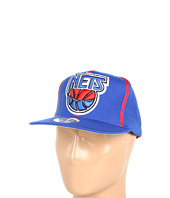 Cheap Mitchell Ness Nba Hardwood Classics Xl Logo W Double Soutache Snapback New Jersey Nets New Jersey Nets