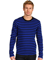 Michael Kors - Ribbed Striped Crewneck
