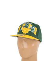 Mitchell & Ness - NFL® Throwbacks Arch w/Logo Tri-Pop Snapback - Green Bay Packers