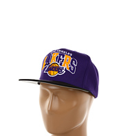 Mitchell & Ness - NBA® Hardwood Classics™ Arch w/Logo Tri-Pop Snapback - Los Angeles Lakers