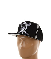 Mitchell & Ness - NFL® Throwbacks XL Logo w/Double Soutache Snapback - Oakland Raiders