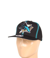 Mitchell & Ness - NHL™ Vintage XL Logo w/ Double Soutache Snapback - San Jose Sharks