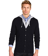 Michael Kors - Double Layer Full Zip Hooded Cardigan