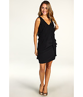 Nicole Miller - Tiered V-Neck Dress