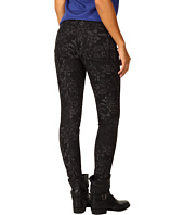 7 For All Mankind - The Skinny in Black/Grey Jacquard