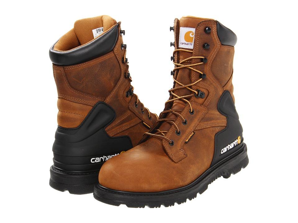 Carhartt - CMW8200 8 Safety Toe Boot (Bison Brown) Men