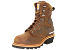 Carhartt 8 Inch Insulated Logger - Men's - Shoes - Brown