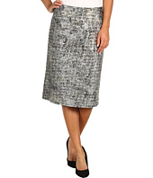 NIC+ZOE - Glitter Print Pencil Skirt