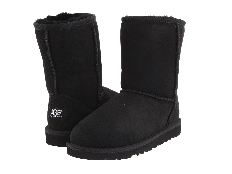 UGG Kids Classic Big Kid Black Kids Shoes