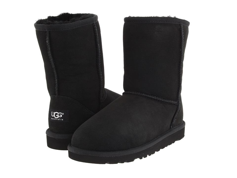 Ugg Kids - Classic (Big Kid) (Black) Kids Shoes